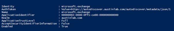 Set-CsOAuthConfiguration -ServiceName 00000004-0000-0ff1-ce00-000000000000