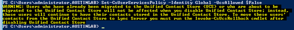 Set-CsUserServicesPolicy